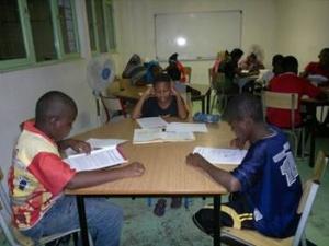 Soutien scolaire à Boueni