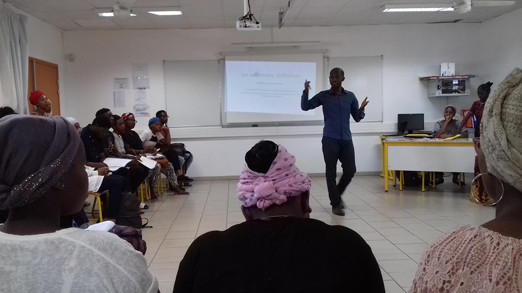 Prévention des conduites addictives au lycée de Dembéni